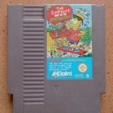 Videojuegos y Consolas: JUEGO NINTENDO NES THE SIMPSONS BART VS THE SPACE MUTANTS 1985. Lote 95588591