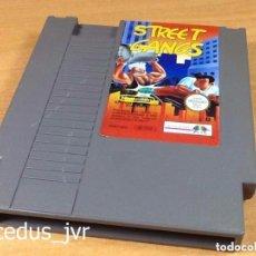 Videojuegos y Consolas: STREET GANGS JUEGO PARA NINTENDO NES PAL ESP ESPAÑA SOLO CARTUCHO EN BUEN ESTADO. Lote 95645055