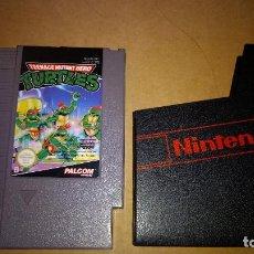 Videojuegos y Consolas: JUEGO PARA NINTENDO NES TEENAGE MUTANT HERO TURTLES . Lote 95769811