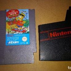 Videojuegos y Consolas: JUEGO PARA NINTENDO NES THE IMPSONS BART VS. THE SPACE MUTANTS. Lote 95769963