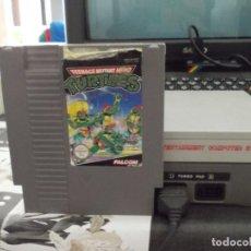 Videojuegos y Consolas: TEENAGE MUTANT HERO TURTLES. SOLO CARTUCHO. NINTENDO. Lote 96162711