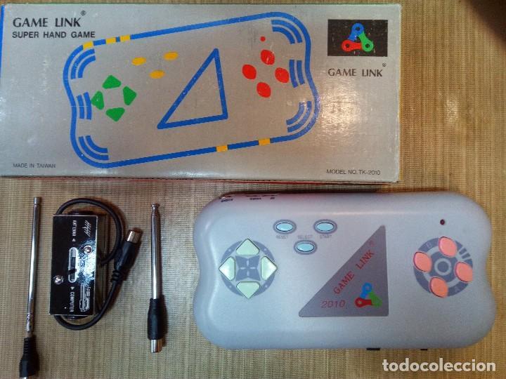 GAME LINK CONSOLA PORTATIL NUEVA. (Juguetes - Videojuegos y Consolas - Nintendo - Nes)