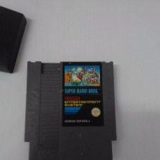 Videojuegos y Consolas: JUEGO SUPER MARIO BROS NINTENDO NES VERSION ESPAÑOLA ESTADO NORMAL . Lote 96880791