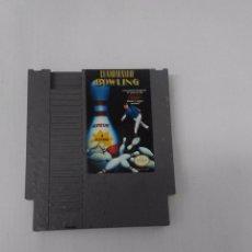 Videojuegos y Consolas: JUEGO CHAMPIONSHIP BOWLING NINTENDO NES VERSION ESPAÑOLA ESTADO NORMAL . Lote 96880967