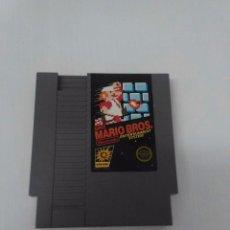 Videojuegos y Consolas: JUEGO SUPER MARIO BROS NINTENDO NES VERSION ESPAÑOLA ESTADO NORMAL . Lote 96881003