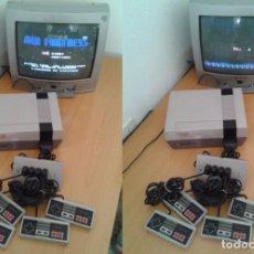 Videojuegos y Consolas: CONSOLA NINTENDO NES COMPLETA VERSION ESPAÑOLA + 4 MANDOS + FOUR SCORE LEER! R6661. Lote 97946175
