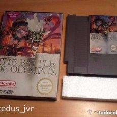 Videojuegos y Consolas: THE BATTLE OF OLYMPUS OLIMPUS JUEGO PARA NINTENDO NES PAL CON CAJA VERSIÓN ESPAÑOLA. Lote 97969731