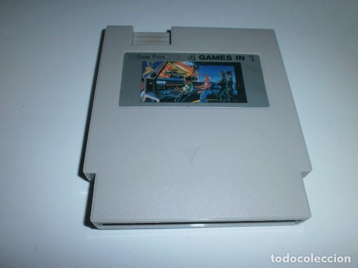 4 GAMES IN 1 NINTENDO NES CLONICA SOLO CARTUCHO (Juguetes - Videojuegos y Consolas - Nintendo - Nes)