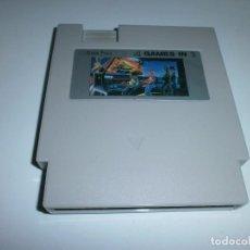 Videojuegos y Consolas: 4 GAMES IN 1 NINTENDO NES CLONICA SOLO CARTUCHO . Lote 98615575