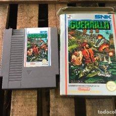 Videojuegos y Consolas: JUEGO NINTENDO NES SNK GUERRILLA PAL B ESPAÑA EN CAJA - FUNCIONANDO CORRECTAMENTE. Lote 98979879