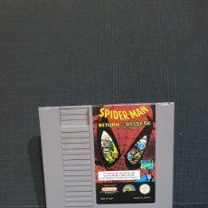 Videojuegos y Consolas: NINTENDO NES SPIDERMAN RETURN OF THE SINISTER SIX. Lote 100826158