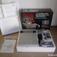 Videojuegos y Consolas: CONSOLA NINTENDO NES COMPLETA PAL VERSION. Lote 100316675