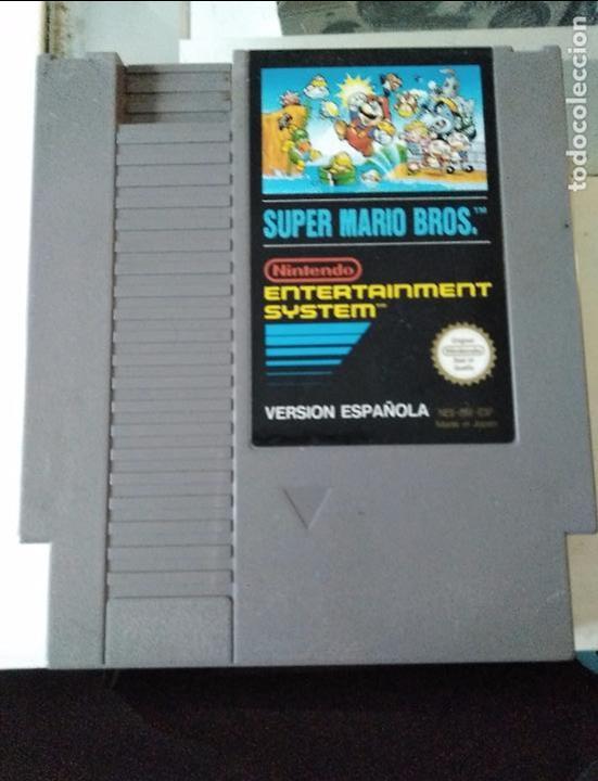 JUEGO SUPER MARIO BROS NES NINTENDO (Juguetes - Videojuegos y Consolas - Nintendo - Nes)