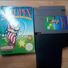 Videojuegos y Consolas: NES OPEN TOURNAMENT GOLF - NINTENDO NES - PAL ESP B. Lote 101979079