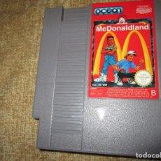 Videojuegos y Consolas: NINTENDO NES ~ MCDONALDLAND ~ PAL / ESPAÑA. Lote 102783759