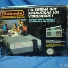 Videojuegos y Consolas: NINTENDO NES - PAL ESPAÑA -CONSOLA DE JUEGOS EN SU CAJA ORIGINAL - FUNCIONA - VER DETALLES EN FOTOS. Lote 149879106
