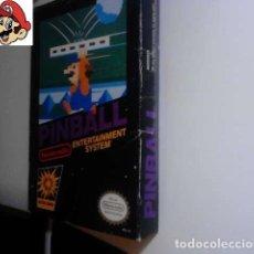 Videojuegos y Consolas: JUEGO PINBALL NINTENDO NES NTSC 1985 (VER DESCRIPCIÓN). Lote 103645775