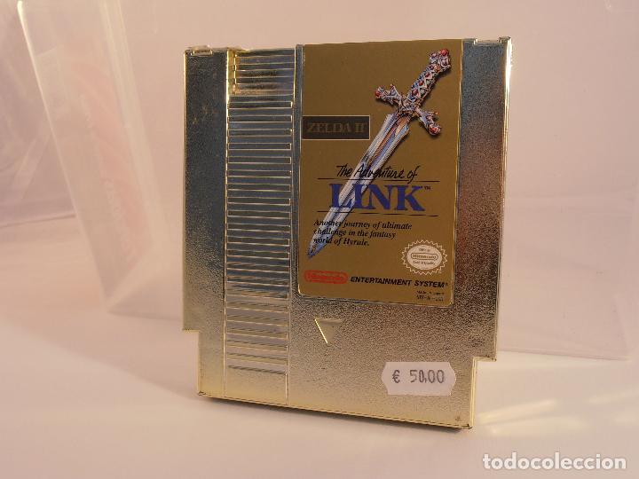 JUEGO NINTENDO NES, THE AVENTURE OF LINK ZELDA II, NES-AL-USA, SOLO CARTUCHO (Juguetes - Videojuegos y Consolas - Nintendo - Nes)