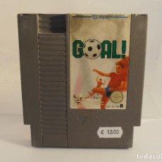 Videojuegos y Consolas: JUEGO NINTENDO NES, GOAL, NES-JG-FRG, SOLO CARTUCHO. Lote 104306867