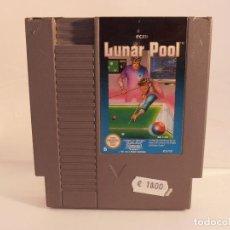Videojuegos y Consolas: JUEGO NINTENDO NES, LUNAR POOL, B, SOLO CARTUCHO. Lote 104307847