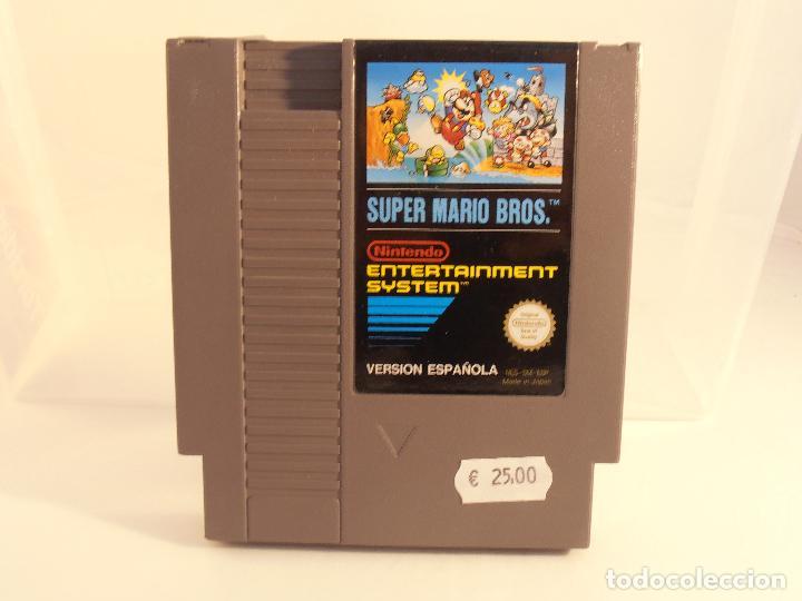 JUEGO NINTENDO NES, SUPER MARIO BROS, VERSION ESPAÑOLA, SOLO CARTUCHO (Juguetes - Videojuegos y Consolas - Nintendo - Nes)