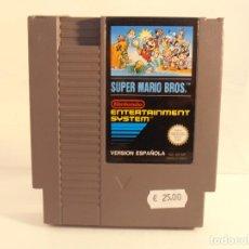 Videojuegos y Consolas: JUEGO NINTENDO NES, SUPER MARIO BROS, VERSION ESPAÑOLA, SOLO CARTUCHO. Lote 104307999