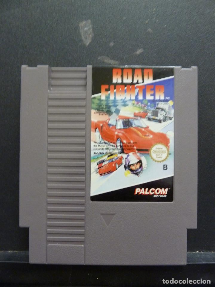 Juego Nintendo Nes Road Fighter Comprar Videojuegos Y