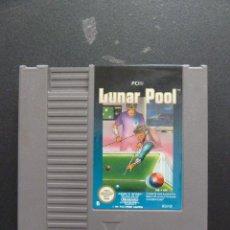 Videojuegos y Consolas: JUEGO - NINTENDO - NES - LUNAR POOL. Lote 104407051