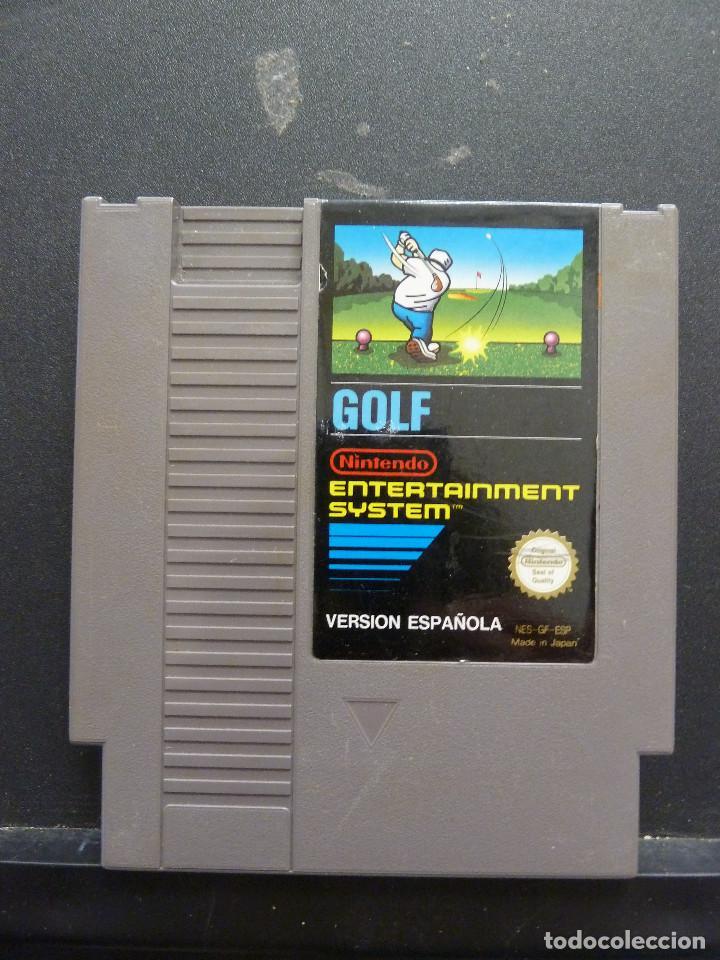 JUEGO - NINTENDO - NES - GOLF (Juguetes - Videojuegos y Consolas - Nintendo - Nes)