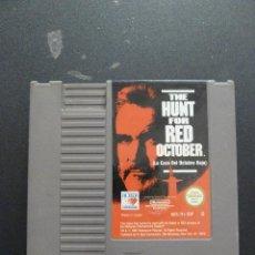 Videojuegos y Consolas: NINTENDO - NES - THE HUNT FOR RED OCTOBER - LA CAZA DEL OCTUBRE ROJO. Lote 104408671