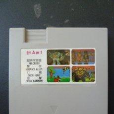 Videojuegos y Consolas: CARTUCHO - CLONICO - NINTENDO - NES - 4 IN 1 - 4 EN 1. Lote 104429423