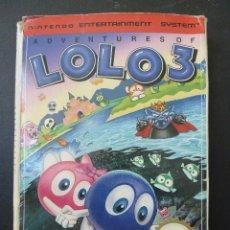 Videojuegos y Consolas: JUEGO - NINTENDO - NES - ADVENTURES OF LOLO 3. Lote 104440259