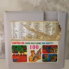 Videojuegos y Consolas: CARTUCHO CONTRA 100 EN 1 CLONICO NINTENDO NES. Lote 104462691