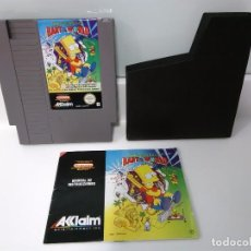 Videojuegos y Consolas: THE SIMPSONS BART VS THE WORLD (NES). Lote 104727939