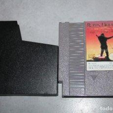 Videojuegos y Consolas: ROBIN HOOD PRINCE OF THIEVES NINTENDO NES SOLO CARTUCHO. Lote 105773571