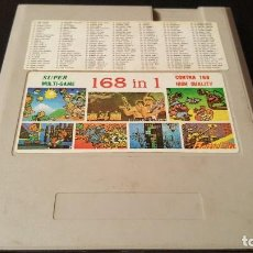 Videojuegos y Consolas: CONSOLA NINTENDO NES CLONICA 168 1N 1 CARTUCHO. Lote 105826787