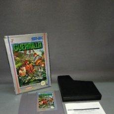 Videojuegos y Consolas: JUEGO - GUERRILLA WAR - NINTENDO NES - SNK- ( VERSIÓN ESPAÑA) GW/ESP /1989. Lote 105890271