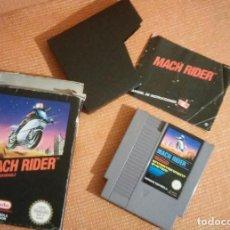 Videojuegos y Consolas: MACH RIDER NINTENDO NES COMPLETO. Lote 106895123