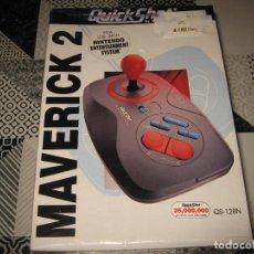 Videojuegos y Consolas: JOSTICK ARCADE MAVERICK 2 QUICK SHOT PARA NINTENDO NES PRECINTADO. Lote 107880879