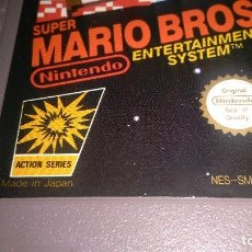 Videojuegos y Consolas: SÚPER MARIO BROS , NINTENDO CARTUCHO 1985. Lote 162238125