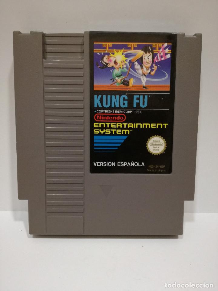 Juego Nintendo Nes Kung Fu Version Nes Sx E Comprar