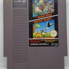 Videojuegos y Consolas: JUEGO NINTENDO NES SUPER MARIO BROS DUCK HUNT. Lote 172473347