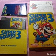 Videojuegos y Consolas: SUPER MARIO BROS 3 - NINTENDO NES - VERSIÓN ESPAÑOLA, COMPLETA. Lote 109091183