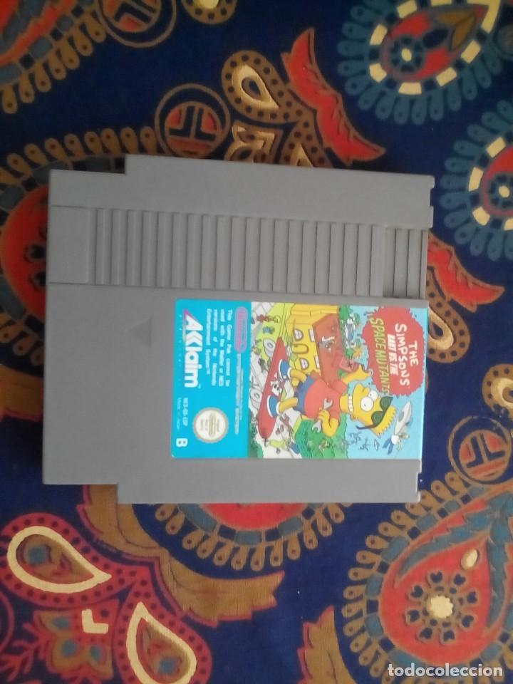 THE SIMPSONS BART VS THE SPACE MUTANTS NES (Juguetes - Videojuegos y Consolas - Nintendo - Nes)