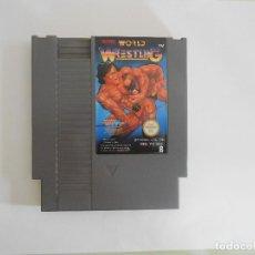 Videojuegos y Consolas: JUEGO NINTENDO NES TECMO WORLD WRESTLING NES-PZ-EEC B. Lote 110964735