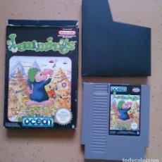 Videojuegos y Consolas: JUEGO NINTENDO NES LEMMINGS. Lote 111111991