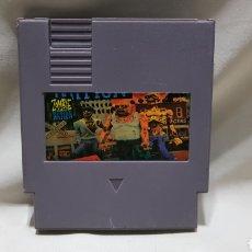 Videojuegos y Consolas: UNICO Y DIFICILÍSIMO ZOMBIE NATION . JUEGO CLON PARA NINTENDO NES . MUY COTIZADO. Lote 206948521