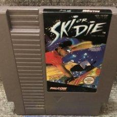 Videojuegos y Consolas: SKI OR DIE NES NINTENDO. Lote 111065099