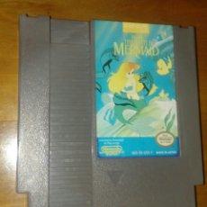 Videojuegos y Consolas: NES SIRENITA LITTLE MERMAID DISNEY CARTUCHO FUNCIONANDO. Lote 111540799