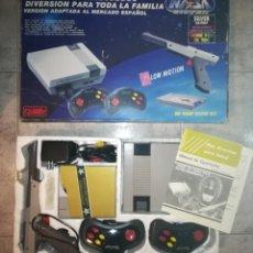 Videojuegos y Consolas: CONSOLA NASA SILVER COMPLETA EDICIÓN ESPAÑOLA (TIPO NINTENDO NES). Lote 113185167